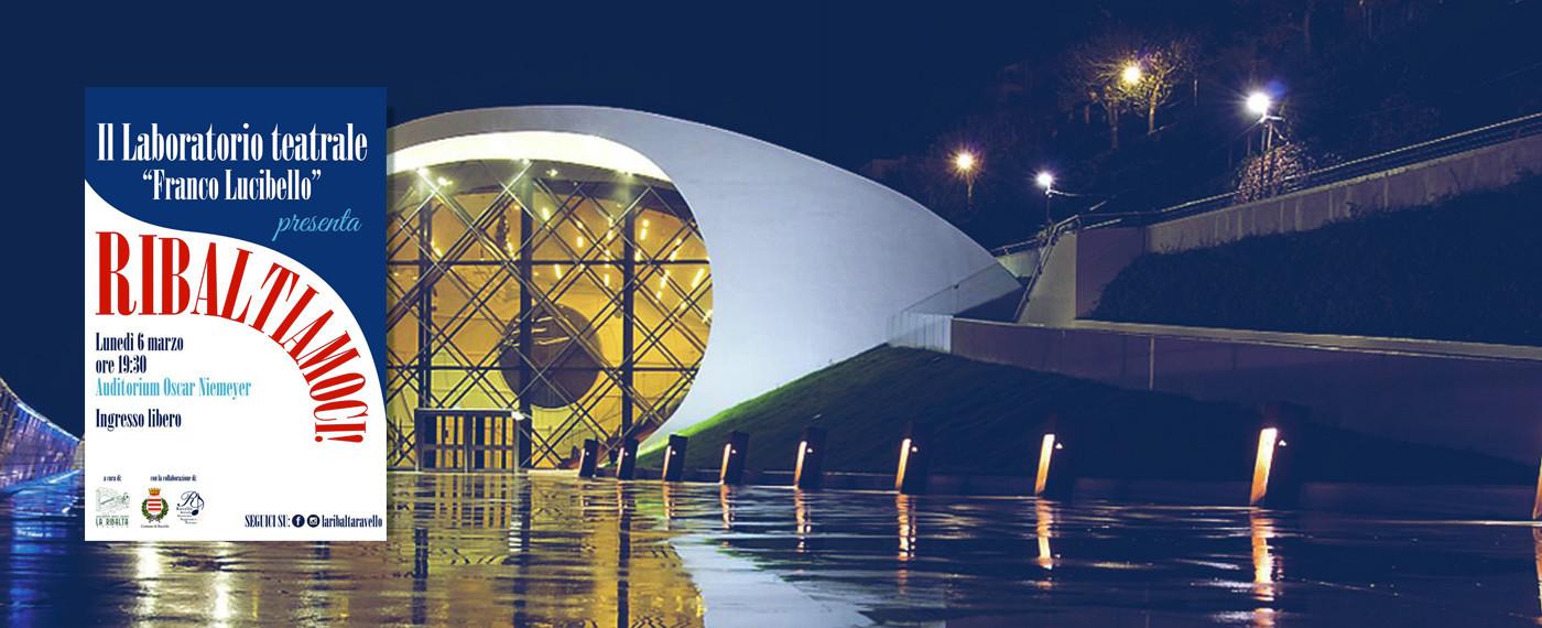 """""""Ribaltiamoci"""", il teatro-cabaret dei ragazzi del Laboratorio """"Franco Lucibello"""" all'Auditorium Niemeyer"""